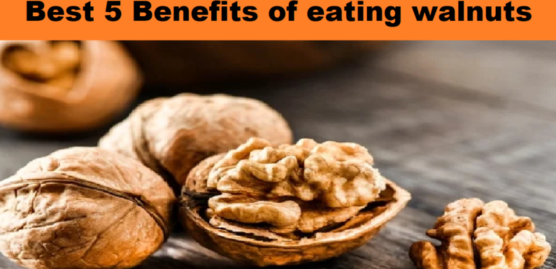 Best 5 Benefits of eating walnuts